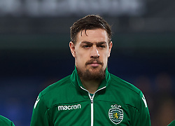 February 21, 2019 - Villarreal, Castellon, Spain - Sebastian Coates of Sporting Lisboa prior the UEFA Europa League Round of 32 Second Leg match between Villarreal and Sporting Lisboa at Estadio de La Ceramica on February 21, 2019 in Vila-real, Spain. (Credit Image: © Maria Jose Segovia/NurPhoto via ZUMA Press)