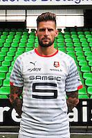 Benoit COSTIL - 15.09.2014 - Photo officielle Rennes - Ligue 1 2014/2015<br /> Photo : Philippe Le Brech / Icon Sport