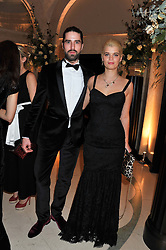 JACK GUINNESS and PIXIE GELDOF at a dinner and dance hosted by Leon Max for the charity Too Many Women in support of Breakthrough Breast Cancer held at Claridges, Brook Street, London on 1st December 2011.