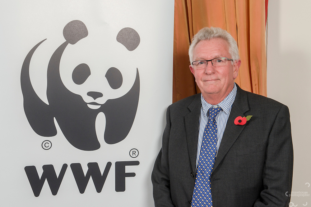 Keith Scholey (Silverback Productions) at the Inaugural WWF Living Planet Lecture at The Royal Society, London. 3/11/2016