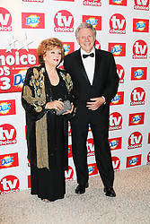 © Licensed to London News Pictures. 09/09/2013, UK. Barbara Knox; Philip Lowrie, TV Choice Awards, The Dorchester Hotel, London UK, 09 September 2013 Photo credit : Richard Goldschmidt/Piqtured/LNP