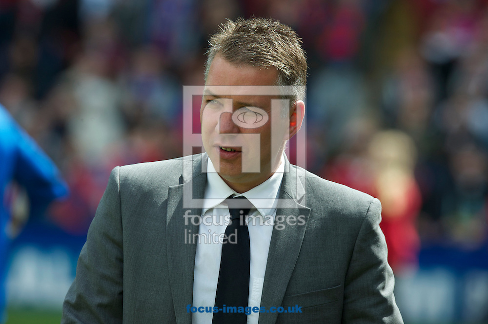 Picture by Alan Stanford/Focus Images Ltd +44 7915 056117.04/05/2013.Manager Darren Ferguson of Peterborough United during the npower Championship match at Selhurst Park, London...