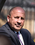 Accrington manager John Coleman during the Sky Bet League 2 match between Wycombe Wanderers and Accrington Stanley at Adams Park, High Wycombe, England on 30 April 2016. Photo by David Charbit.