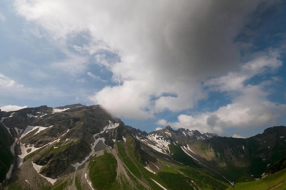 Grauspitz; highest mountain Liechtenstein;