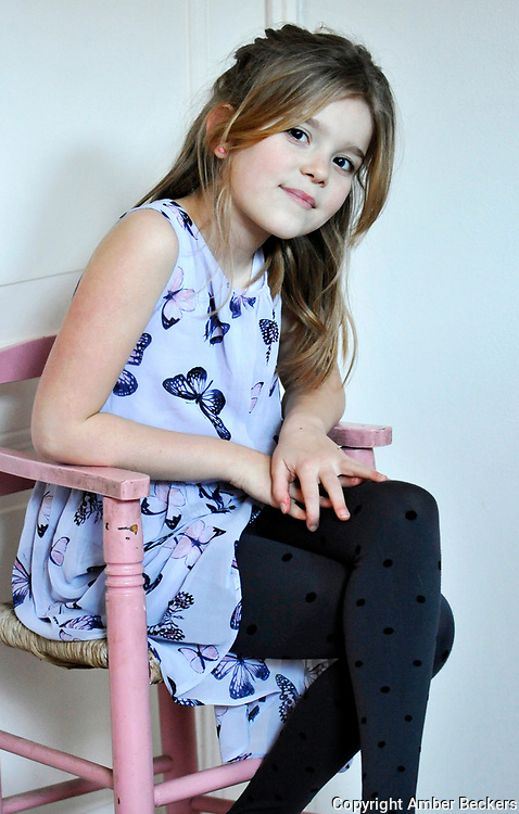 January 7, 2018 - 16:24<br /> The Netherlands, Edam - Zo&euml;, 8 years and 2 months old