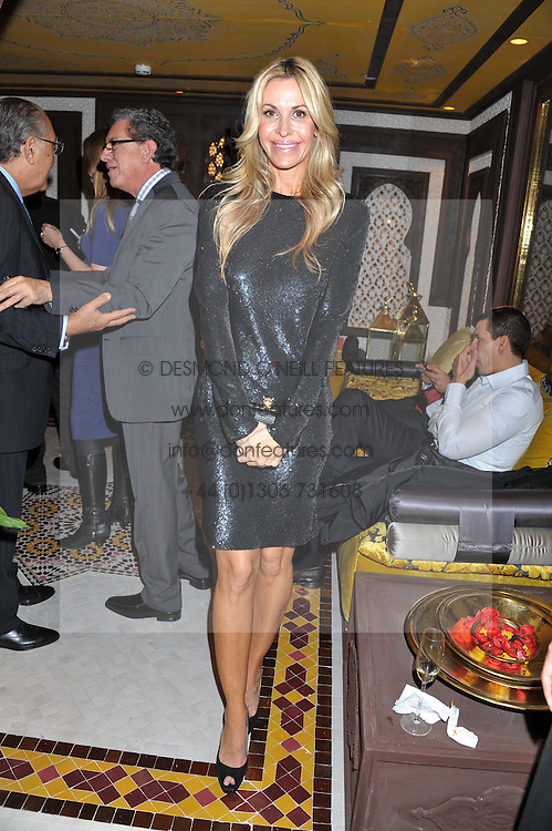 MELISSA ODABASH at the Inspiring Morocco launch held at Harrods, Knightsbridge, London on 3rd November 2011.