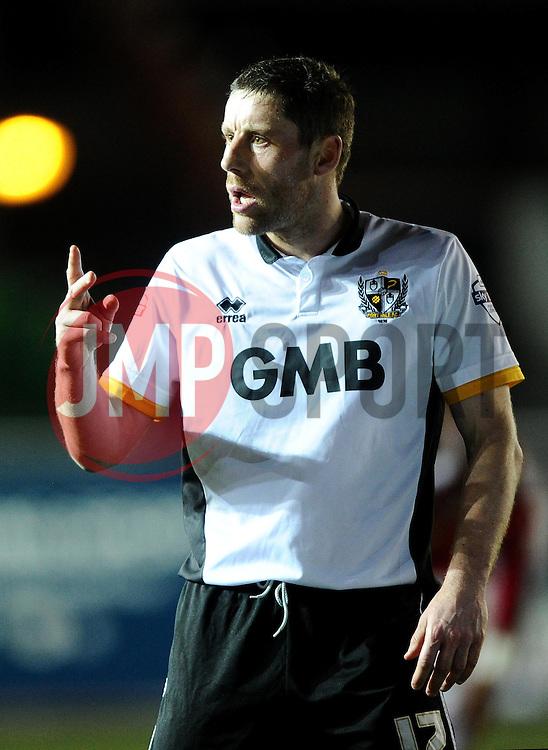 Port Vale's Michael Brown  - Photo mandatory by-line: Joe Meredith/JMP - Mobile: 07966 386802 - 10/02/2015 - SPORT - Football - Bristol - Ashton Gate - Bristol City v Port Vale - Sky Bet League One