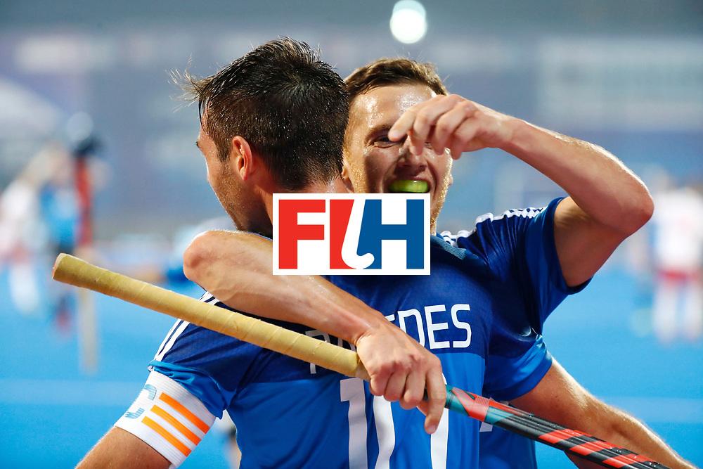 Odisha Men's Hockey World League Final Bhubaneswar 2017<br /> Match id:14<br /> England v Argentina<br /> Foto: Matias Paredes (Arg) <br /> COPYRIGHT WORLDSPORTPICS KOEN SUYK