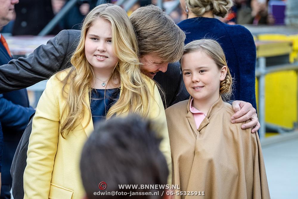 NLD/Tilburg/20170427- Koningsdag 2017, Amalia, Alexia, Ariane