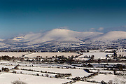 27/11/2010.The view of snow covered Mount Leinster from the road between Graiguenamanagh and Thomastown County Kilkenny yesterday..Picture Dylan Vaughan.