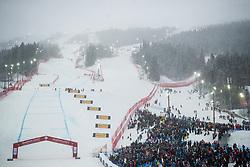 February 9, 2019 - Re, SWEDEN - 190209 View over the slopes ahead of men's downhill during the FIS Alpine World Ski Championships on February 9, 2019 in re..Photo: Joel Marklund / BILDBYRN / kod JM / 87853 (Credit Image: © Joel Marklund/Bildbyran via ZUMA Press)