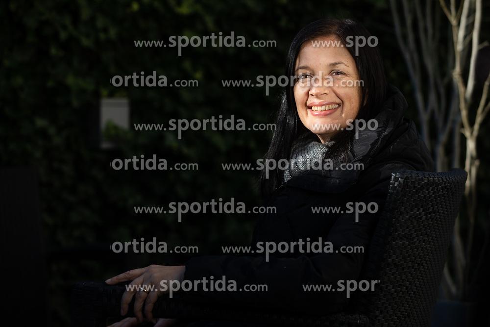 Tadeja Trošt Sedej, on December 11, 2019 in Ljubljana, Slovenia. Photo by Vid Ponikvar/ Sportida