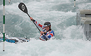 Waltham Cross, United Kingdom,  Women K1, Fiona PENNIE, practising at the  British Canoeing, Olympic Team  Announcement, for 2016 Rio Olympics.  Lee Valley White Water Centre, Hertfordshire, UK  on Wednesday  04/11/2015  <br /> <br /> [Mandatory Credit: Peter SPURRIER: Intersport Images]