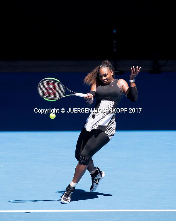 SERENA WILLIAMS (USA)<br /> <br /> Australian Open 2017 -  Melbourne  Park - Melbourne - Victoria - Australia  - 25/01/2017.