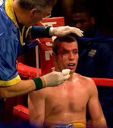 May 18, 2007; New York, NY, USA; John Duddy defeats Dupre Strickland via 10 round unanimous decision at the Beacon Theatre in New York City.