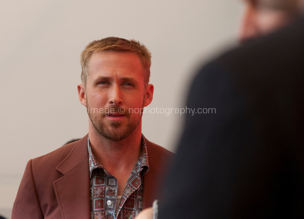 Ryan Gosling at the photocall for the film First Man at the 75th Venice Film Festival, on Wednesday 29th August 2018, Venice Lido, Italy.