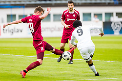 Ozbej Kuhar of NK Triglav Kranj during football match between NK Triglav Kranj and NK Rudar Velenje in Round #27 of Prva Liga Telekom Slovenije 2017/18, on April 15, 2018 in Sports park Kranj, Kranj, Slovenia. Photo by Ziga Zupan / Sportida