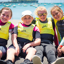 Royal Akarana Yacht Club school holiday program kids and coaches.