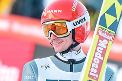 17.03.2018, Vikersundbakken, Vikersund, NOR, FIS Weltcup Ski Sprung, Raw Air, Vikersund, Team, im Bild Richard Freitag (GER) // Richard Freitag of Germany during Team Competition of the 4th Stage of the Raw Air Series of FIS Ski Jumping World Cup at the Vikersundbakken in Vikersund, Norway on 2018/03/17. EXPA Pictures © 2018, PhotoCredit: EXPA/ JFK