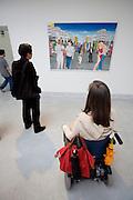 "Italian Pavillion. Paintings by Cheri Samba, Congo. ""Un Tour a Matongue Bruxelles"", 2007"
