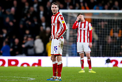 Nick Powell of Stoke City cuts a dejected figure - Mandatory by-line: Robbie Stephenson/JMP - 31/01/2020 - FOOTBALL - Pride Park Stadium - Derby, England - Derby County v Stoke City - Sky Bet Championship