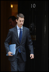 David Cameron's political private secretary, Laurence Mann leaves No10 Downing Street after Cabinet Meeting in the Syria Crisis, London, United Kingdom. Thursday, 29th August 2013. Picture by Andrew Parsons / i-Images