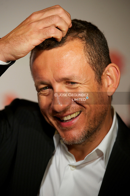 French actor Dany Boon attends a photocall for the movie 'Un plan presque parfait' (A plan almost perfect) directed by Pascal Chaumei at Palafox Cinema on July 10, 2013 in Madrid