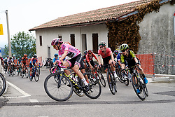 Annemiek van Vleuten (NED) on the final climb of the day during Stage 8 of 2019 Giro Rosa Iccrea, a 133.3 km road race from Vittorio Veneto to Maniago, Italy on July 12, 2019. Photo by Sean Robinson/velofocus.com