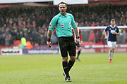 Match Referee Paul Tierney during the EFL Sky Bet Championship match between Sheffield United and Nottingham Forest at Bramall Lane, Sheffield, England on 17 March 2018. Picture by Mick Haynes.