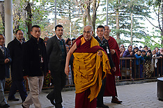 NOV 11 2013 Dalai Lama gives public teachings on philosphy in India
