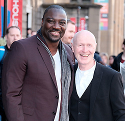 Edinburgh International Film Festival 2019<br /> <br /> Farming (UK Premiere)<br /> <br /> Pictured: Adewale Akinnuoye-Agbaje (Director) and Paul Laverty<br /> <br /> Alex Todd | Edinburgh Elite media