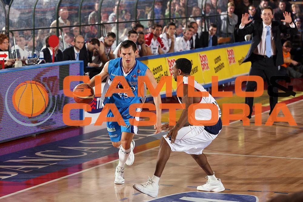 DESCRIZIONE : Biella Lega A1 2007-08 Angelico Biella Eldo Napoli<br /> GIOCATORE : Janis Blums<br /> SQUADRA : Eldo Napoli<br /> EVENTO : Campionato Lega A1 2007-2008<br /> GARA : Angelico Biella Eldo Napoli<br /> DATA : 30/12/2007<br /> CATEGORIA : Palleggio<br /> SPORT : Pallacanestro<br /> AUTORE : Agenzia Ciamillo-Castoria/S.Ceretti