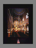 Signed and numbered 19x24 poster of Plum St. Temple in Cincinnati