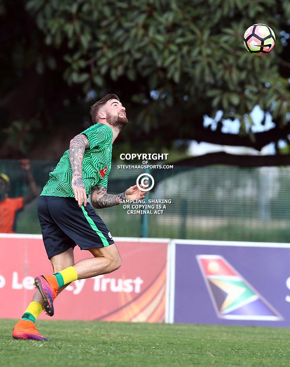 Lars Velwijk during the Bafana Bafana Training at People's Park, Moses Mabhida Stadium in Durban,21st March 2017 (Steve Haag)