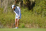 Julie Yang during the final round of the LPGA Qualifying Tournament Stage Three at LPGA International in Daytona Beach, Florida on Dec. 6, 2015.<br /> <br /> <br /> ©2015 Scott A. Miller
