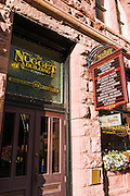 The Nugget historic building, Telluride, Colorado USA