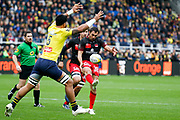 Lionel Beauxis to LOU, Sitaleki Timani to ASM during the French championship Top 14 Rugby Union match between ASM Clermont and Lyon OU on November 18, 2017 at Marcel Michelin stadium in Clermont-Ferrand, France - Photo Romain Biard / Isports / ProSportsImages / DPPI