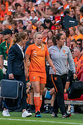 01-06-2019 NED: Netherlands - Australia, Eindhoven<br /> <br /> Friendly match in Philips stadion Eindhoven. Netherlands win 3-0 / Kika van Es #5 of The Netherlands