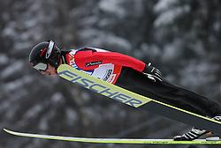 Takanobu Okabe (JPN)  at Normal Hill Individual Ski jumps at FIS Nordic World Ski Championships Liberec 2008, on February 21, 2009, in Jested, Liberec, Czech Republic. (Photo by Vid Ponikvar / Sportida)