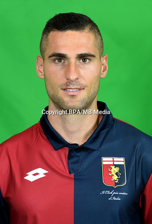 Italian League Serie A -2016-2017 / <br /> ( Genoa CFC ) - <br /> Aleandro Rosi
