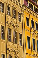 Baroque architecture, Neumarkt, Dresden, Saxony, Germany