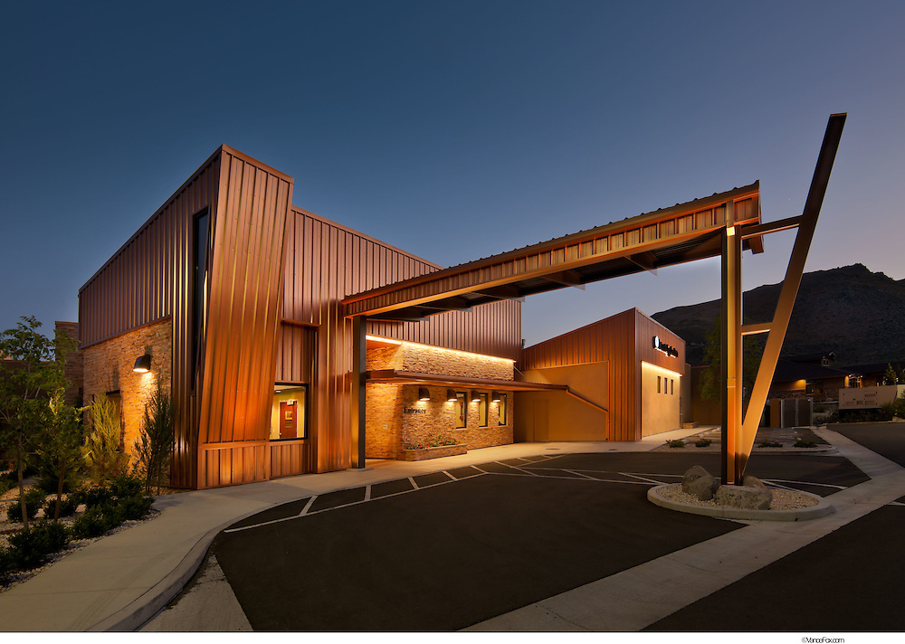 Carson GCI Building - Carson City, Nv.   HMC Architects, Shaheen Beauchamp Contractor