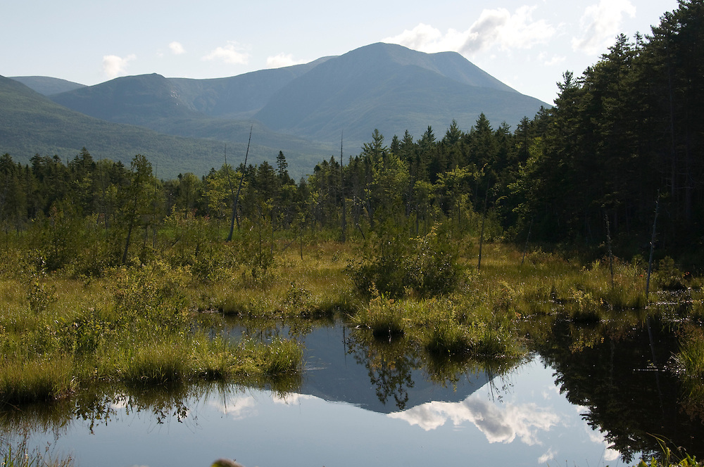 Mount Katahdin at Baxter State Park
