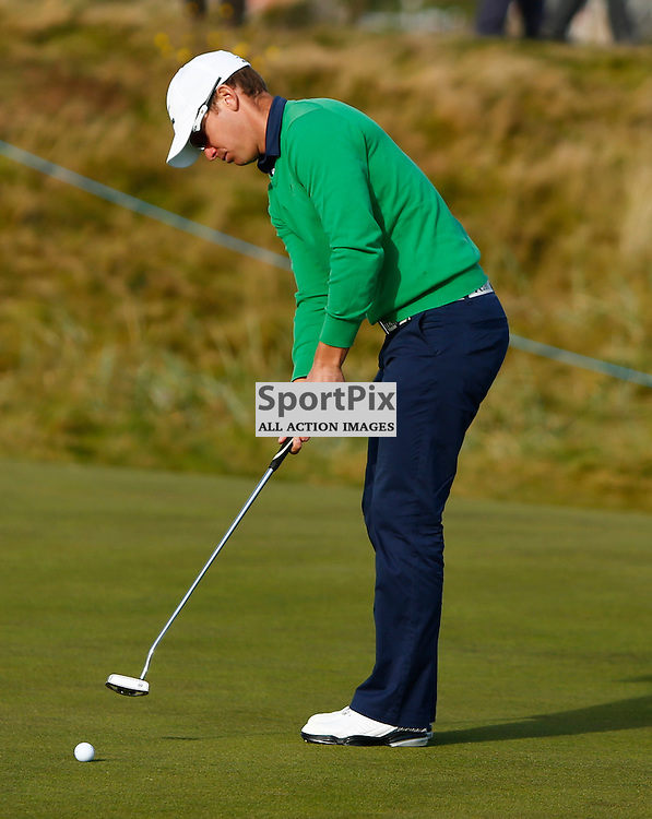 Alfred Dunhill Links Championship...Magnus A Carlsson in action at Carnoustie..(c) STEPHEN LAWSON | StockPix.eu