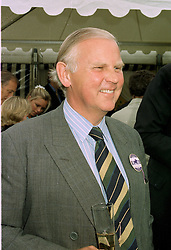 COL.SIR CHARLES LOWTHER at a polo match in Cirencester on 24th June 1997.   LZP 1