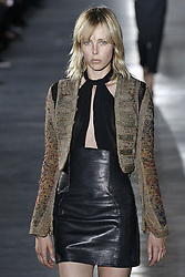 Saint Laurent Modenschau w‰hrend der Paris Fashion Week / 270916<br /> <br /> ***Saint Laurent fashion show as part of Paris Fashion Week on september 27, 2016 in Paris***