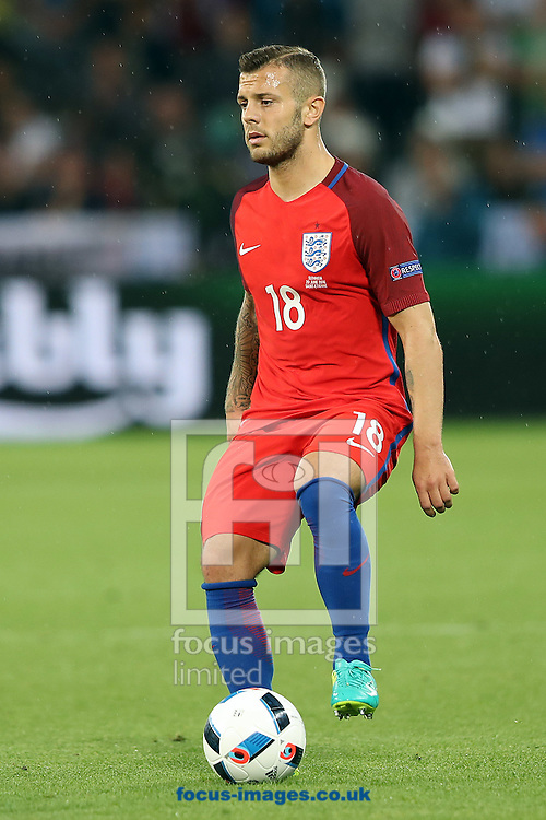 Jack Wilshere of England during the UEFA Euro 2016 match at Stade Geoffroy-Guichard, Saint-Etienne<br /> Picture by Paul Chesterton/Focus Images Ltd +44 7904 640267<br /> 13/06/2016