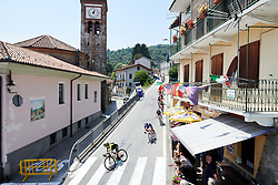 Descending into Rubiana at Stage 2 of 2019 Giro Rosa Iccrea, an 78.3 km road race starting and finishing in Viù, Italy on July 6, 2019. Photo by Sean Robinson/velofocus.com