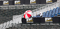 BLOEMENDAAL - hockey - Bloemendaal-Hurley (6-0). publiek op de tribunes voor de EHL. Copyright KOEN SUYK