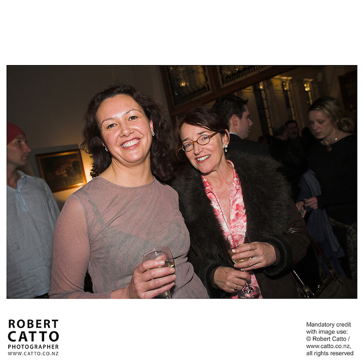 Jasmin McSweeney;Kathleen Drumm at the Out Of The Blue Premiere 06 at the Embassy Theatre, Wellington, New Zealand.<br />